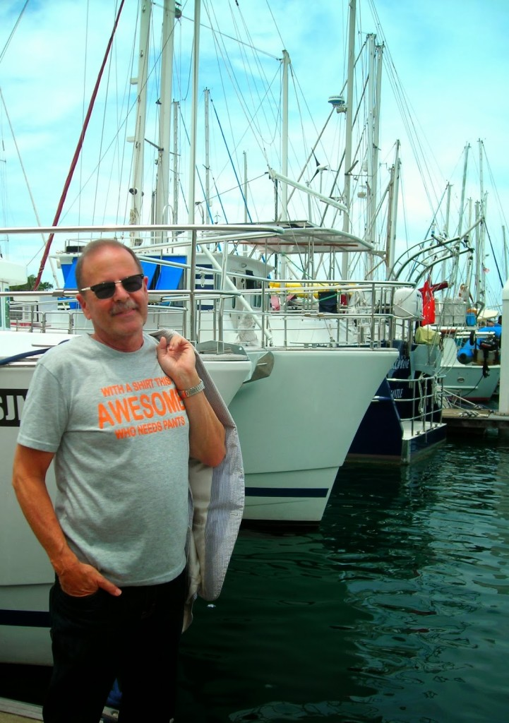 Ted Macauley,enjoying some downtime in Penang a day after his screening.