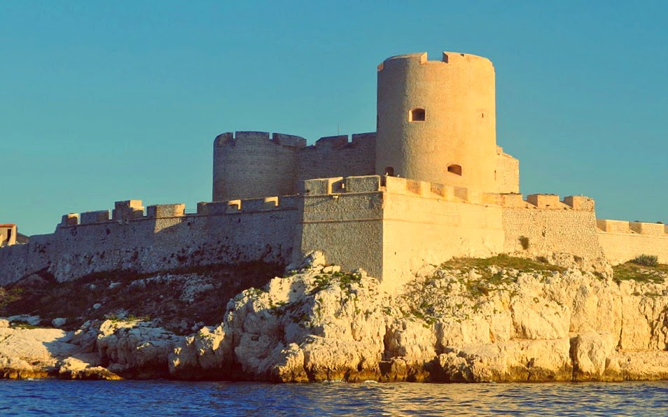 TheChâteau d' If - the setting of Alexandre Dumas' novel The Count of Monte Cristo.