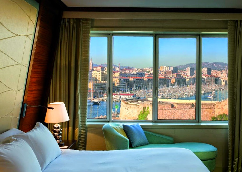 The Sofitel Hotel Vieux Port in Marseilles tells a tale of magic, bewitching everyone who looks outside through its window.