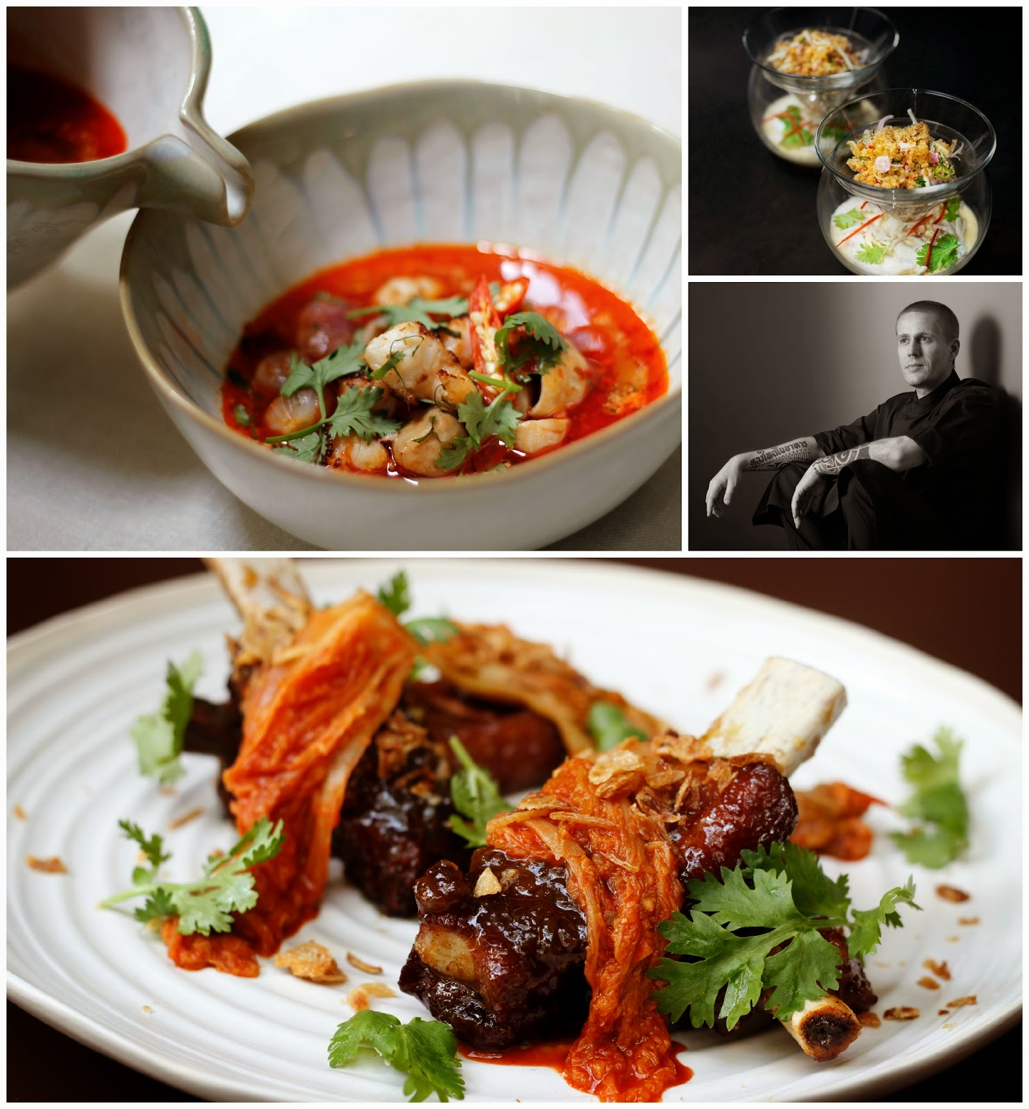 At the Benjarong Royal Thai Cuisine restaurant, chef Morten's interpretation of Thai food is an innovative approach by combining modern techniques with traditional flavors producing contemporary dishes that are distinctly Thai at heart.