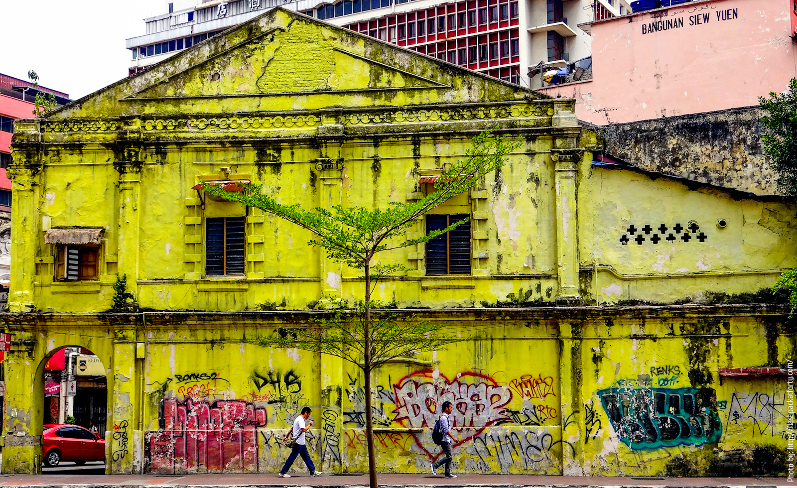 old kl's chinatown