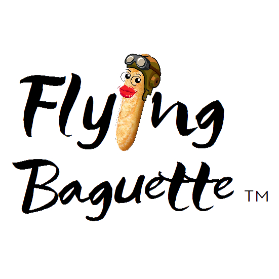 Flying Baguette. Traveling is about EVERYTHING.