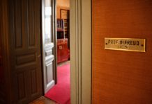 Office of Sigmund Freud in Vienna