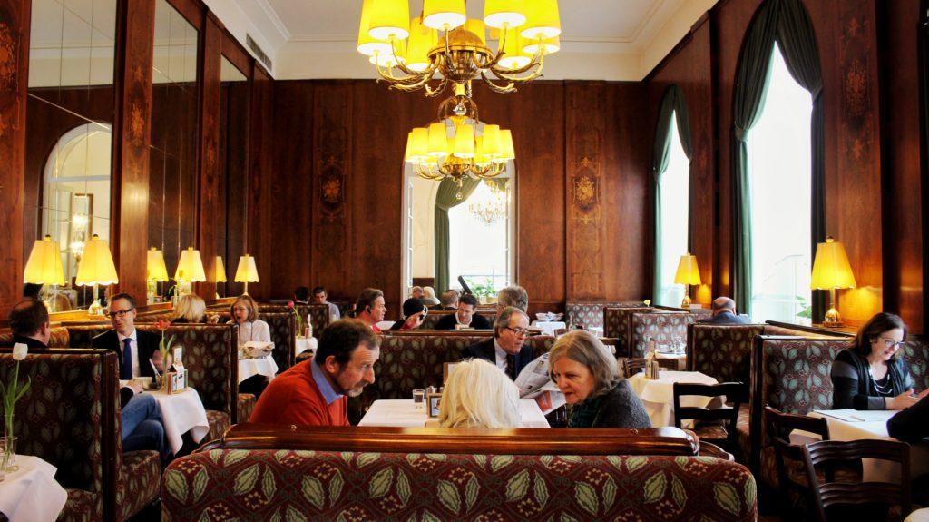 Cafe Landtmann in Vienna