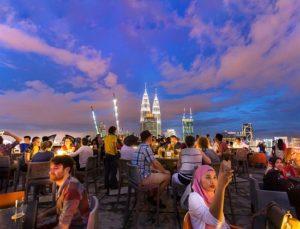 rooftop bar in Kuala Lumpur