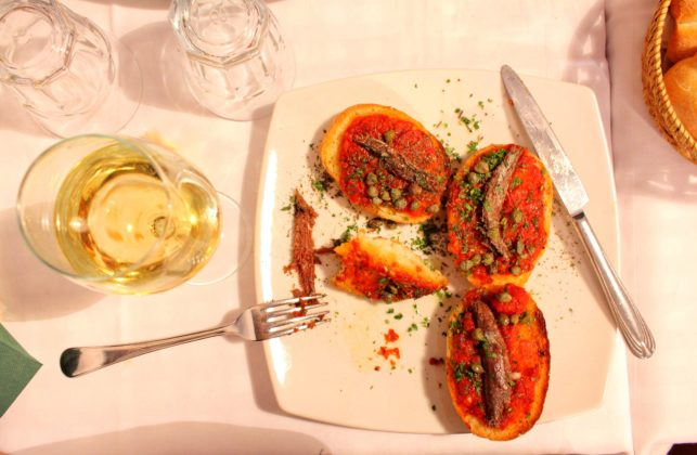 Anchovy Tomato Repast