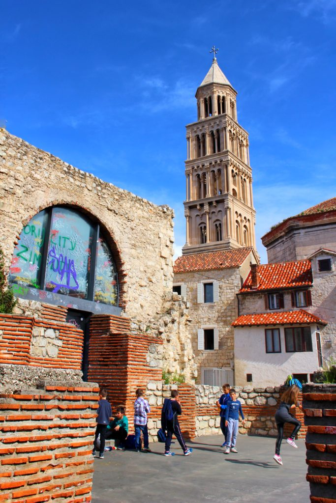 Roman Ruins in Split, Croatia