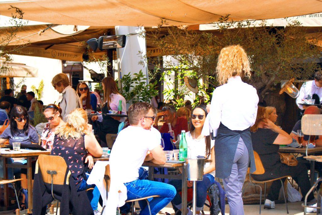 Cafe life in Split