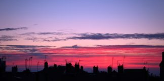 Early morning light in Lyon
