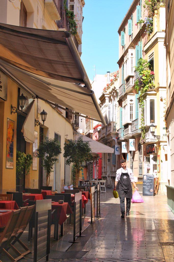 Old town in Malaga