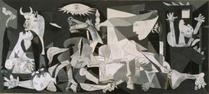 pablo Picasso's painting Guernica