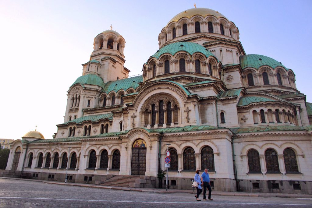 A cathedral in Sofia city